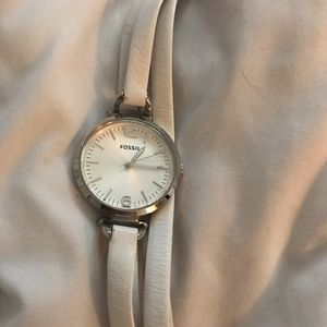 Accessories - Fossil watch white